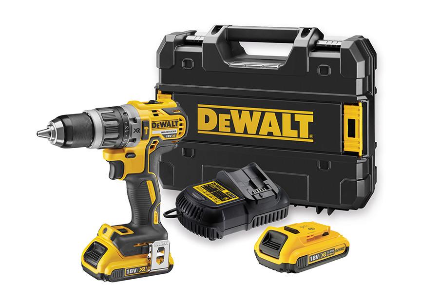DEWALT - DCD796D2 Brushless Κρουστικό Δραπανοκατσάβιδο 18V