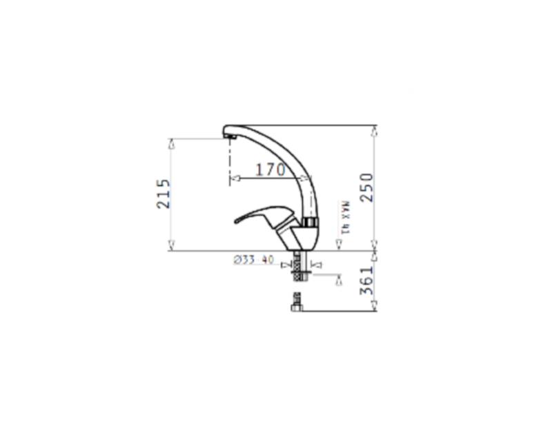 PYRAMIS - Sereno Χρωμέ Μπαταρία Κουζίνας - Eξοπλισμός Σπιτιού