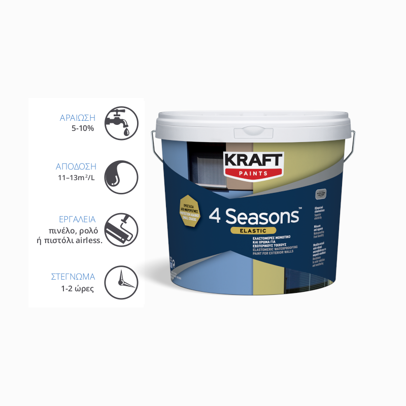 Kraft Paints - 4SEASONS Elastic