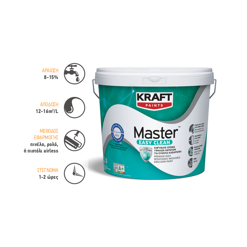 Kraft Paints - Master Easy Clean