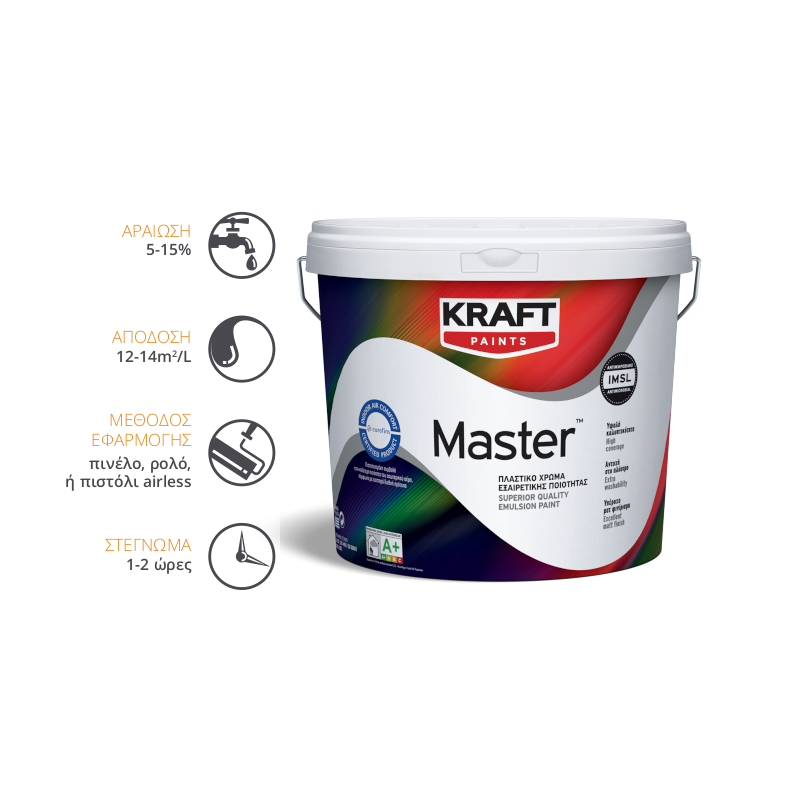 Kraft Paints - Master