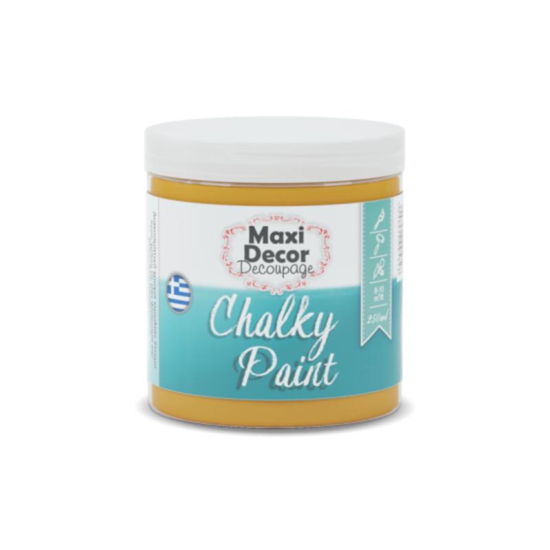 Maxi Decor – Chalky Paint 601 Κουρκουμί Χρώμα Κιμωλίας
