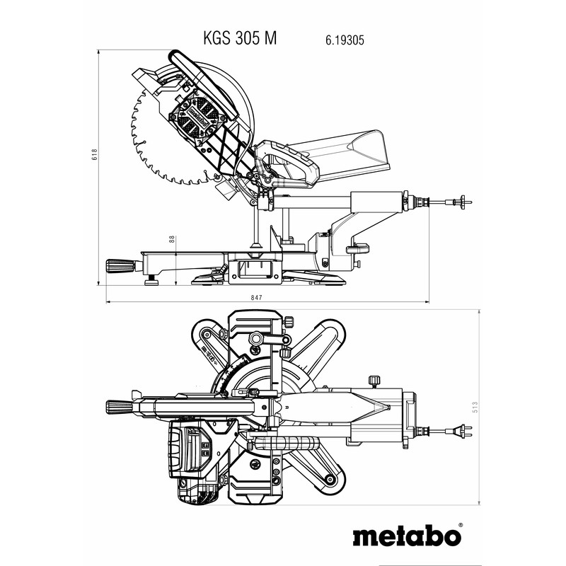Metabo - KS 305 M