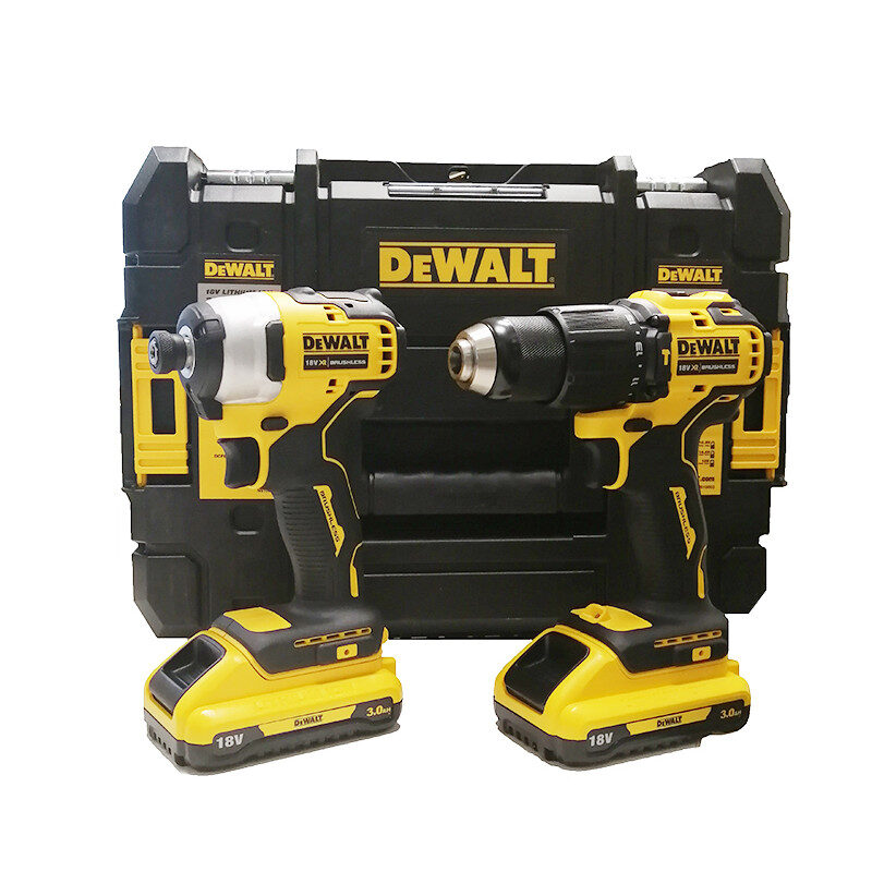Dewalt - DCK2062L2T 18V Brushless Δραπ/δο Kρουστικό & Παλμικό Kατσαβίδι