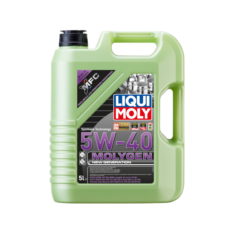 Liqui Moly - Molygen New Generation 5W-40