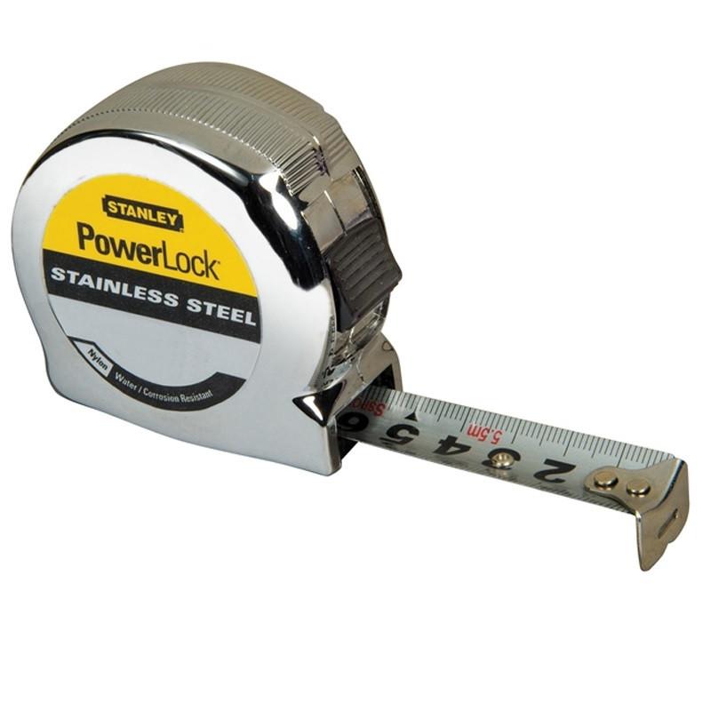 Stanley - 0-33-301 Μέτρο PowerLock Από Ατσάλι 8m