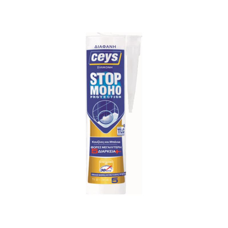 Ceys - Stop Moho Αντιμουχλική Σιλικόνη Διάφανη Φύσ. 280ml