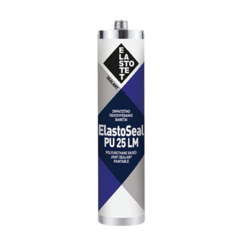 ELASTOTET - Elastoseal PU 25 LM Μαστίχη Πολυουρεθάνης Λευκή Φύσ. 310ml