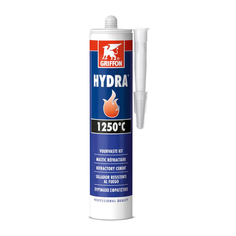 Griffon - Hydra 1250°C Σιλικόνη Υψηλής Θερμοκρασίας Φύσ. 600gr
