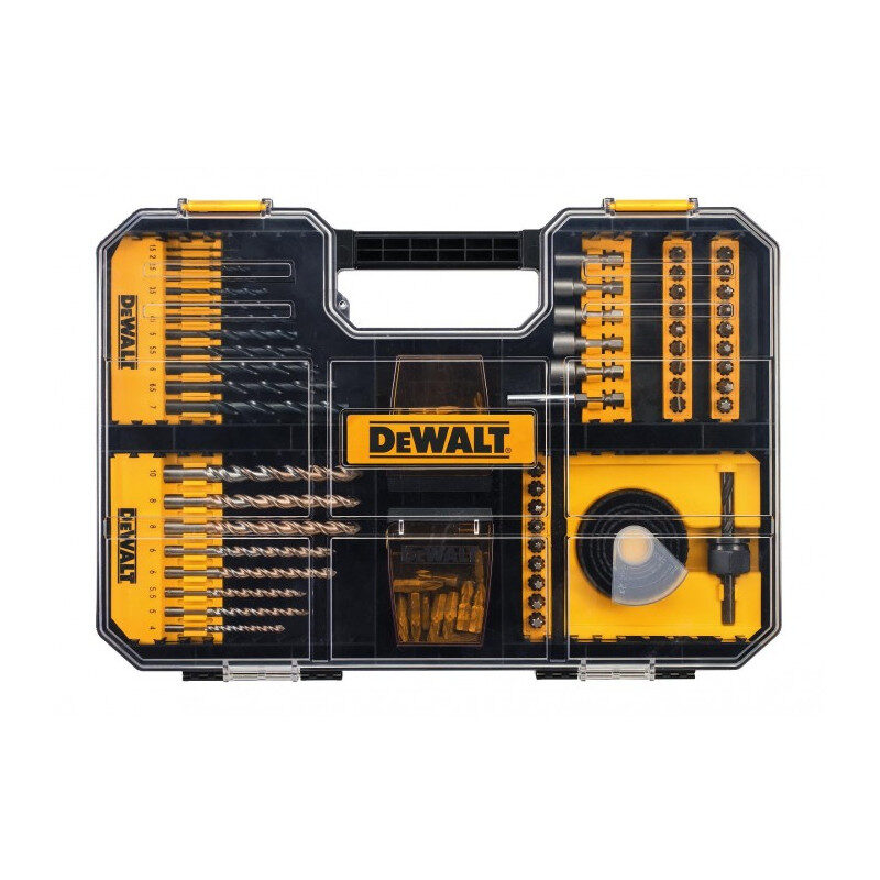 Dewalt - DT71569 Σετ Εξαρτήματα σε Πλαστική Κασετίνα 100 Τεμαχίων