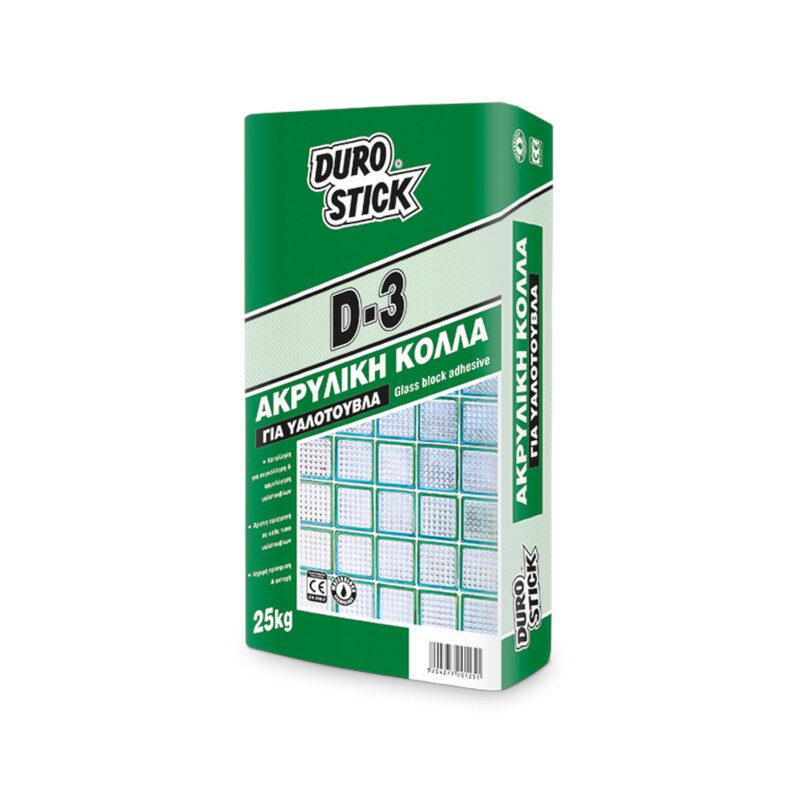 Durostick - D-3 Κόλλα υαλότουβλων