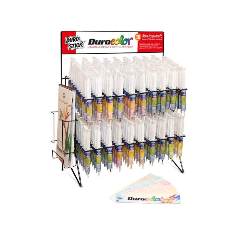 Durostick - Durocolor Χρωμοσυνθέσεις σε σύριγγες 20ml