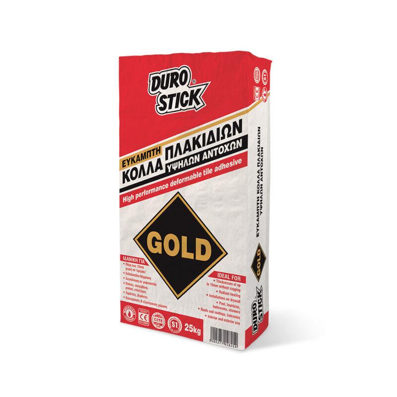 Durostick - Gold Εύκαμπτη κόλλα πλακιδίων υψηλών αντοχών