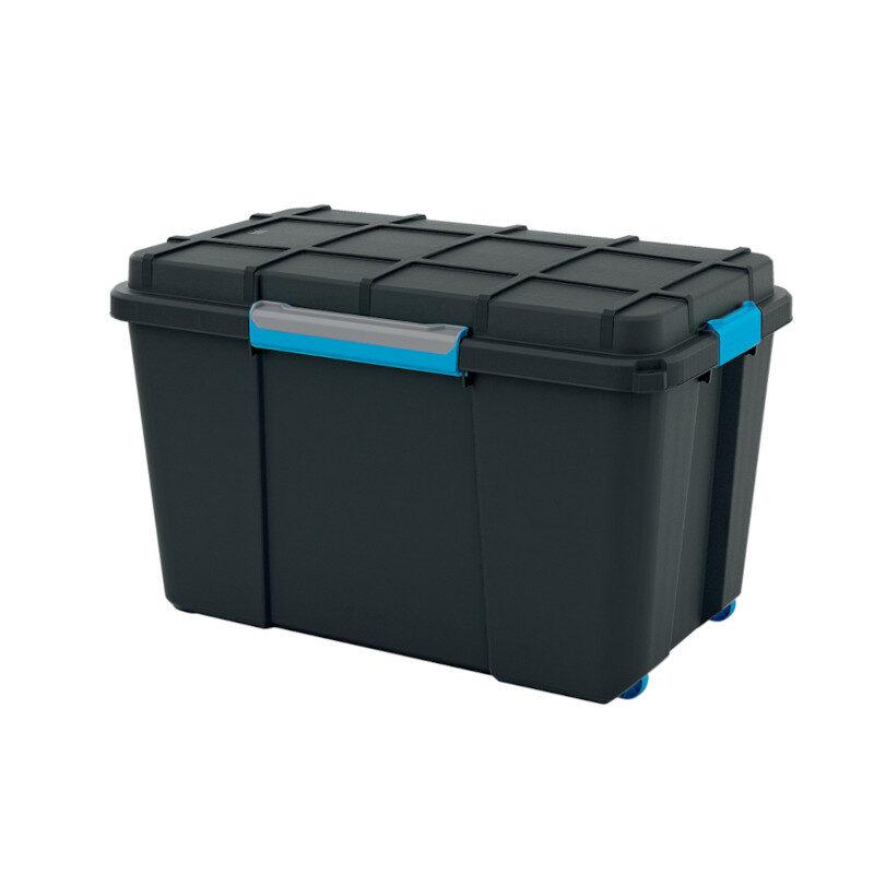 Kis - Scuba Box 106lt Κουτί Αποθήκευσης Μαύρο