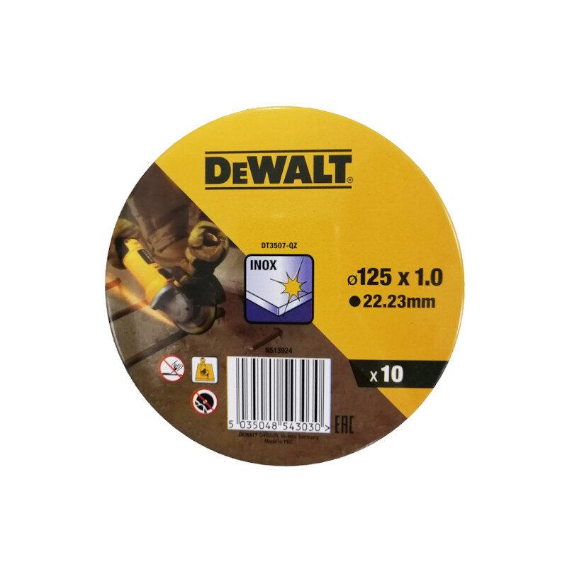 Dewalt - DT3507-QZ Δίσκος Κοπής Inox 125mm