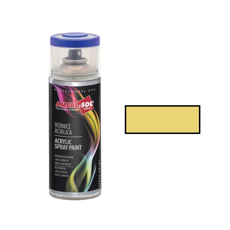 AmbroSol - Σπρέι γενικής χρήσης 400ml - (RAL1015) Glossy Ιβουάρ Ανοιχτό