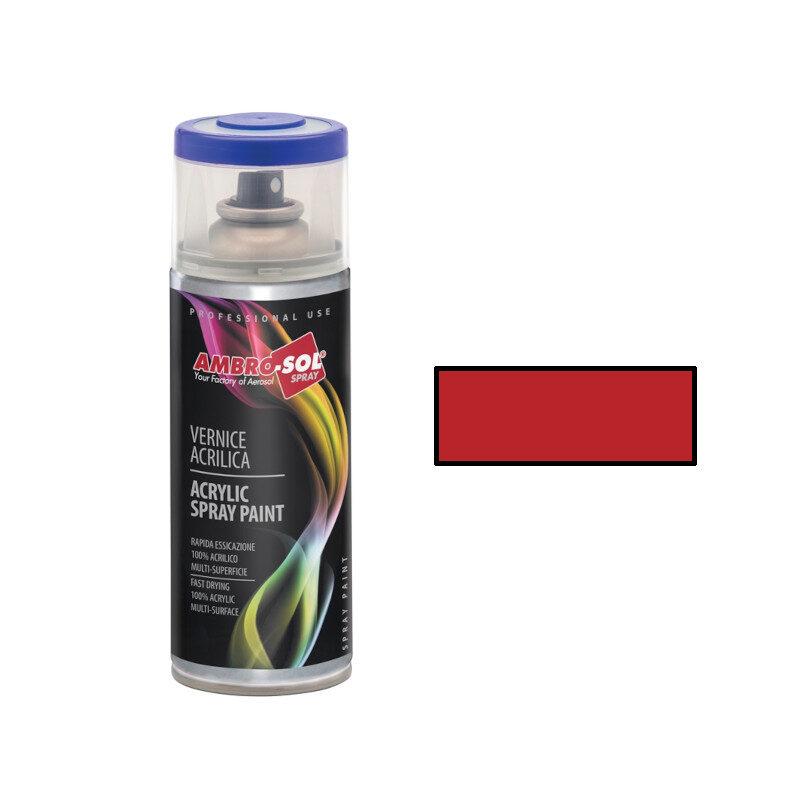 AmbroSol - Σπρέι γενικής χρήσης 400ml - (RAL3003) Glossy Κόκκινο Ρουµπινί