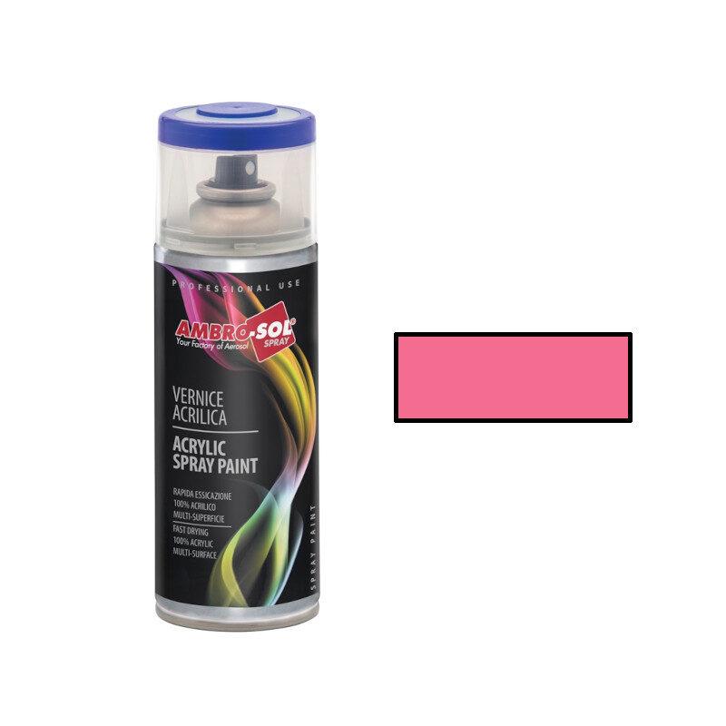 AmbroSol - Σπρέι γενικής χρήσης 400ml - (RAL3015) Glossy Ροζ Ανοιχτό