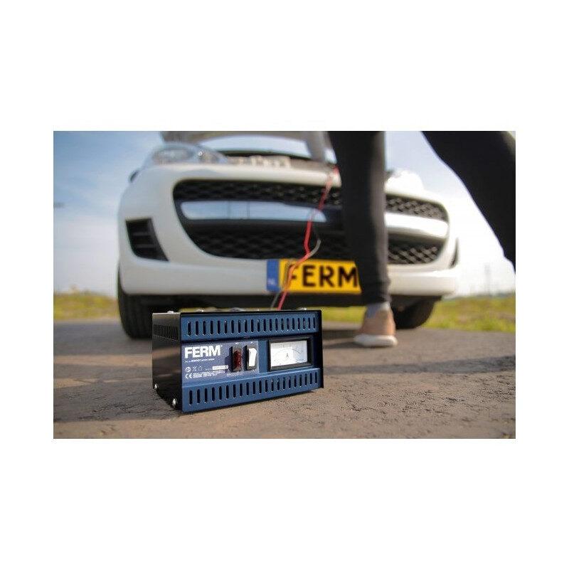 Ferm – BCM1021 Φορτιστής Μπαταρίας Αυτοκινήτου 6V/12V-5A