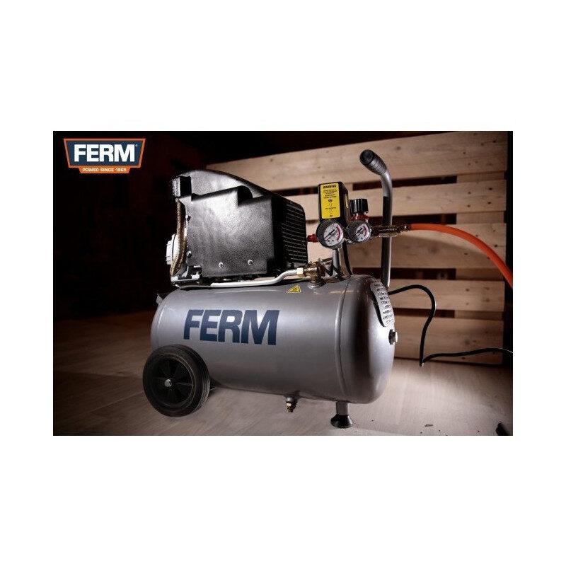 Ferm – CRM1045 Αεροσυμπιεστής 1.5Hp - 1100W – 24lt