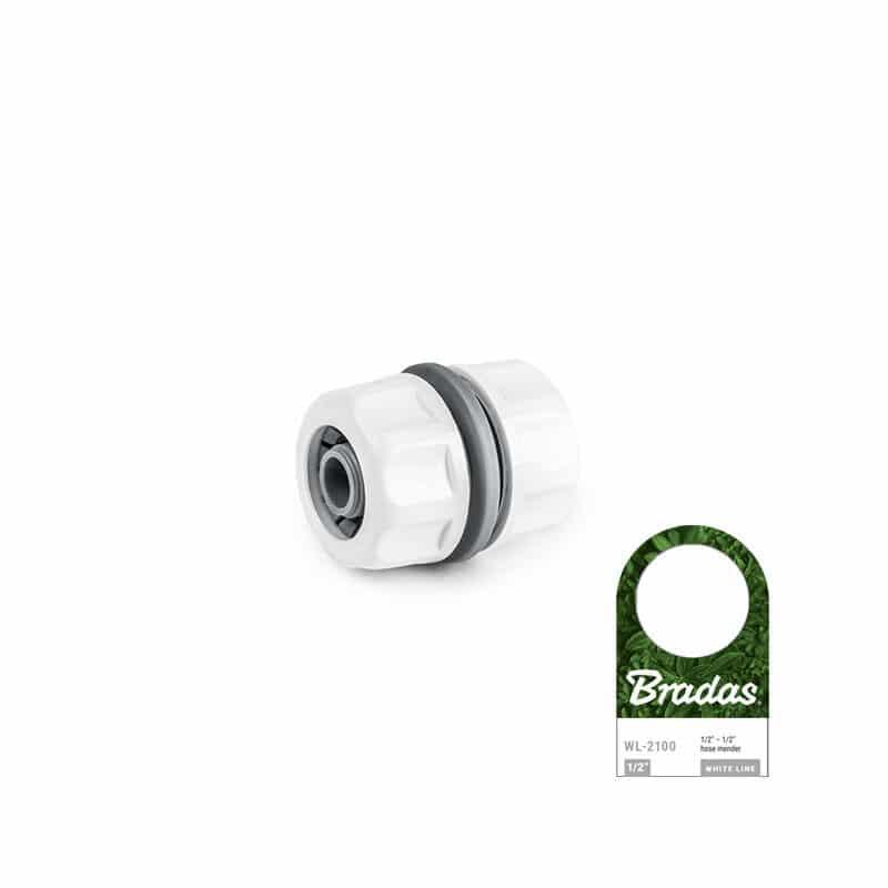 "Bradas - WL-2100 Σύνδεσμος Νερού Πλαστικός 1/2"" - 1/2"""