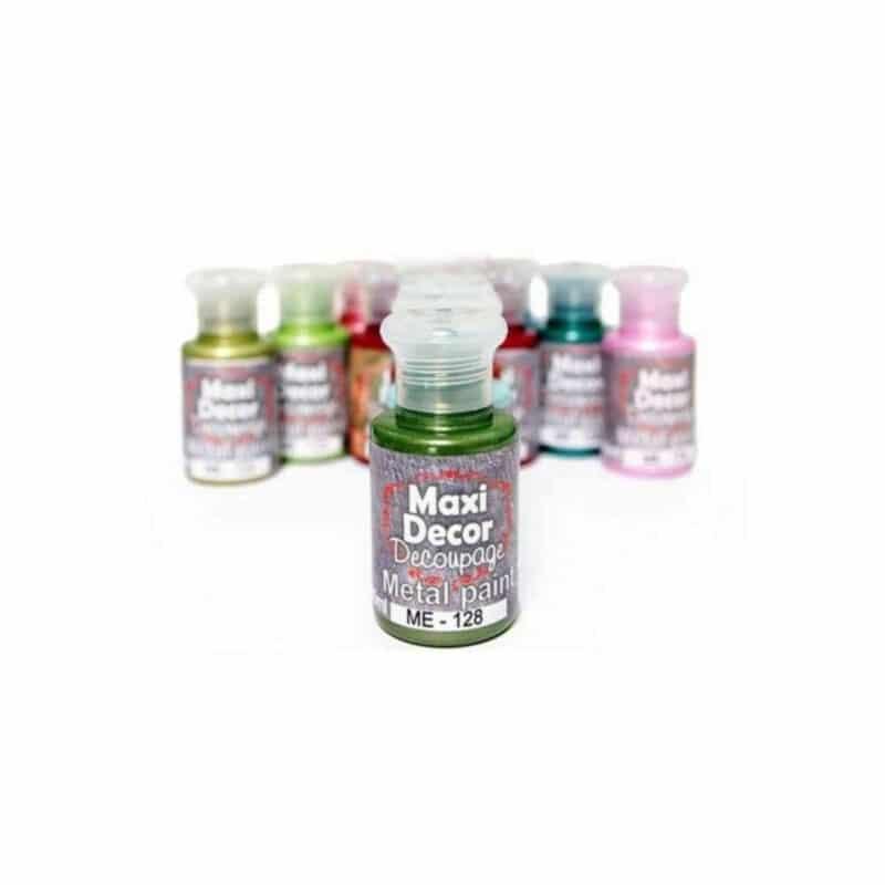 Maxi Decor - Μεταλλικά Χρώματα 60ml