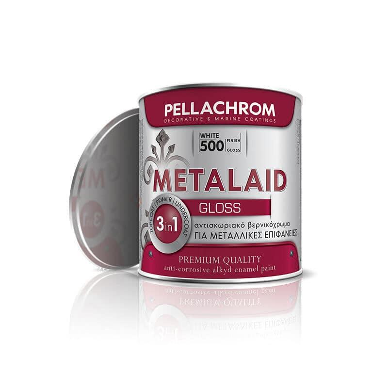 Pellachrom - Metalaid Αντισκωριακό Αλκυδικό Βερνικόχρωμα