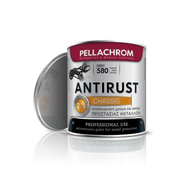 Pellachrome - Antirust Chassis Αντισκωριακό Χρώμα Προστασίας Μετάλλων