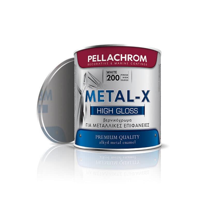 Pellachrom - Metal-X Αλκυδικό Βερνικόχρωμα για Μεταλλικές Επιφάνειες