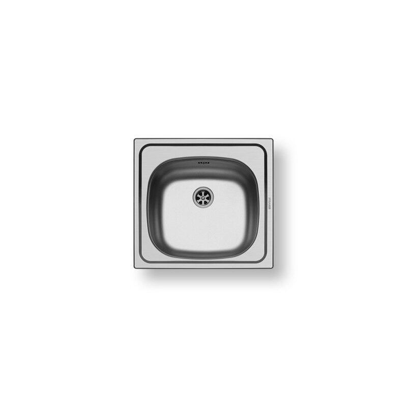 Pyramis - Basic E33 Ανοξείδωτος Νεροχύτης