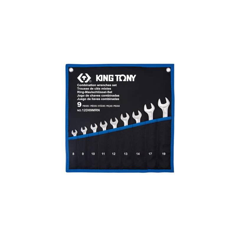 King Tony- 12D09MRN Σετ Γερμανοπολύγωνα 8τμχ σε θήκη Tetoron