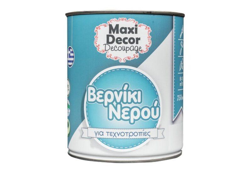 Maxi Decor - Βερνίκι Νερού για Τεχνοτροπίες